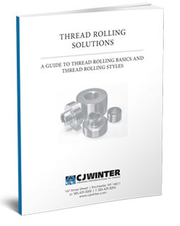 guide thread rolling solutions