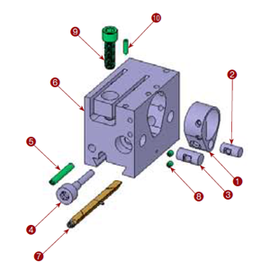 111-11-QCT 2nd Position Tool Block Assembly
