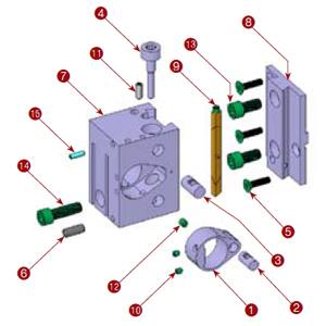 111-12 3rd Position Tool Block Assembly